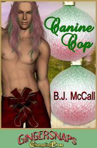 Canine Cop (Gingersnaps) by B.J.  McCall