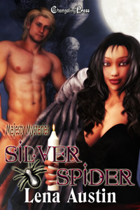 Silver Spider (Majesty Mysteries) by Lena  Austin
