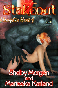 Stakeout (Memphis Heat 1) by Marteeka  Karland