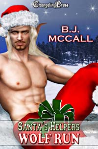 Wolf Run (Santa's Helpers) by B.J.  McCall