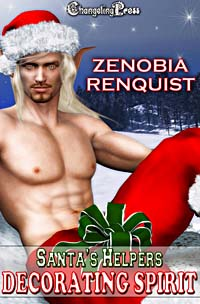 Santa's Helpers: Decorating Spirit by Zenobia  Renquist