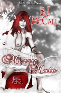 Merry Mate (Red Velvet Christmas) by B.J.  McCall