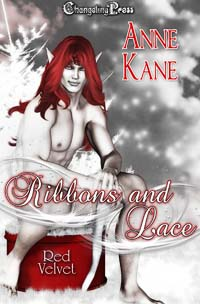 Ribbons and Lace (Red Velvet Christmas) by Anne  Kane