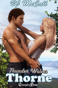 Thunder Wolves: Thorne by B.J. McCall Excerpt 2 (adult)