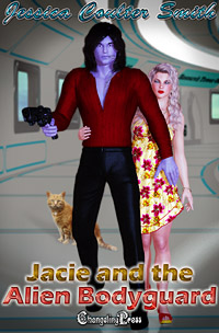 Jacie and The Alien Bodyguard (Intergalactic Brides 6) by Jessica Coulter  Smith