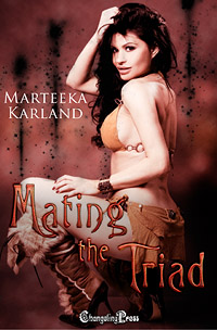 Mating the Triad (The Outcasts) by Marteeka  Karland