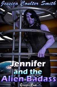 Jennifer and the Alien Badass (Intergalactic Brides 15) by Jessica Coulter Smith