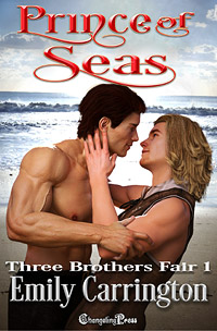 Prince of Seas (Three Brothers Fair 1) by Emily  Carrington