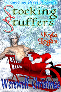 Werewolf Christmas (Stocking Stuffers) by Kyla  Logan