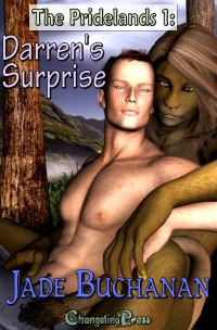 Darren's Surprise (The Pridelands 1) by Jade  Buchanan
