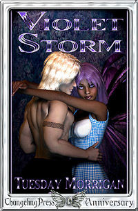 Violet Storm by Tuesday  Morrigan
