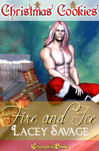 Fire and Ice (Christmas Cookies) by Lacey  Savage