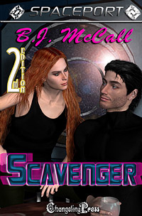 Scavenger (Spaceport) by B.J.  McCall