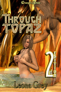 Through Topaz by Leona  Grey