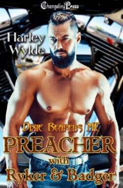 Preacher with Ryker & Badger (Dixie Reapers /Devil's Boneyard MC Print 3)