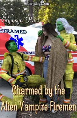 Charmed by the Alien Vampire Firemen (Alien Vampires 1)