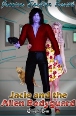 Jacie and The Alien Bodyguard (Intergalactic Brides 6)