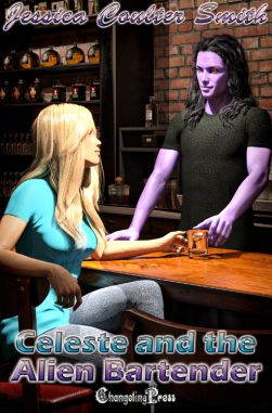 Celeste and the Alien Bartender (Intergalactic Brides 8)