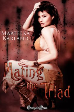 Spotlight: Mating the Triad (The Outcasts 1)